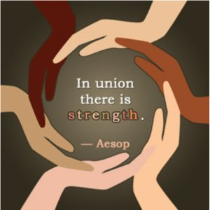In union strength